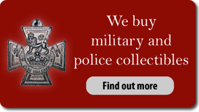 We buy military and police collectibles. Find out more